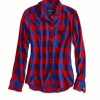 AE BOYFRIEND BUTTON DOWN SHIRT