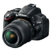 D5100 Digital SLR Camera with Nikon 18-55mm VR Lens And Nikon 55-200mm Lens + 3 Extra Lens + 8GB SDHC Memory Card & More !!