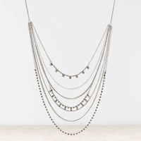 AEO TIERED GEMSTONE NECKLACE