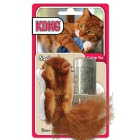 KONG® Cats With An Attitude Squirrel Catnip Toy