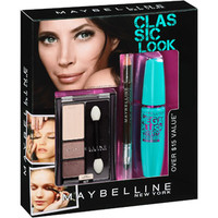 Walmart: Maybelline New York Classic Look Eye Makeup Kit, 3 pc