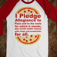 Pledge Allegiance to the Pizza