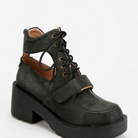 Jeffrey Campbell Exit Cutout Lace-Up Boot - Urban Outfitters