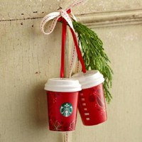 2013 Starbucks Red Cup Ornament