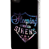 Sleeping With Sirens Logo Galaxy Nebula iPod Case, iPhone Case, Samsung Galaxy Case