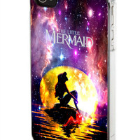 In The Moon light Nebula Space Ariel The Little Mermaid iPod Case, iPhone Case, Samsung Galaxy Case