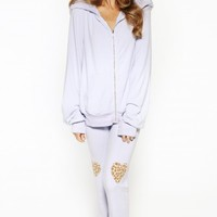 PARTY COLORFULLY NAKED MALIBU ZIP UP