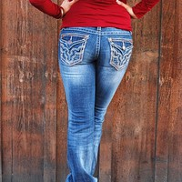 Grace in LA Jeans - Vintage Stitch