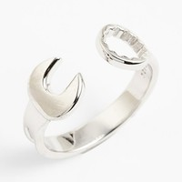 Mateo Bijoux Sterling Silver Wrench Ring | Nordstrom
