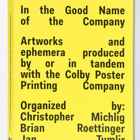 In The Good Name Of The Company By Jan Tumlir, Chris Michlig & Brian Roettinger  - Urban Outfitters