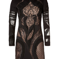Emilio Pucci - Wool Floral Cutout Dress