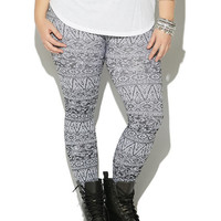 Abstract Pattern Legging