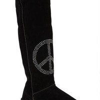 Mick Peace Sign Boot