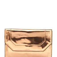 BCBGMAXAZRIA Bronze Piper Clutch Bag