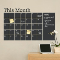 $12 for a 6-Foot Blackboard or Whiteboard Decal - Shipping Included ($39.99 Value)