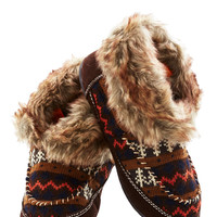Fun by the Fire Slippers | Mod Retro Vintage Boots | ModCloth.com