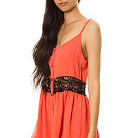 The Precious Dress in Coral