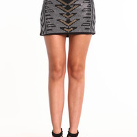 ART DECO SPARKLE SKIRT
