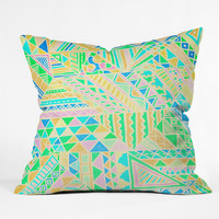 Lisa Argyropoulos Wild One Two Throw Pillow
