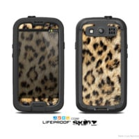 The Real Cheetah Animal Print Skin For The Samsung Galaxy S3 LifeProof Case