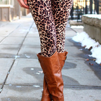 Spot On Leopard Leggings