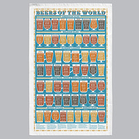Stuart Gardiner Design: Beers of the world