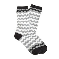 CHEVRON STRIPE SOCKS