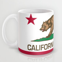California Republic state flag - Authentic Version Mug by LonestarDesigns2020 - Flags Designs +