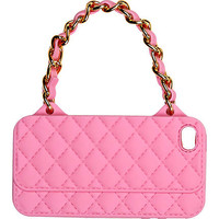 GIRLS PINK CHAIN HANDBAG PHONE CASE