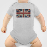 Union Jack  (3:5 Version) Onesuit by Bruce Stanfield