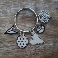 Dreams, Wishes And Peace Keyring