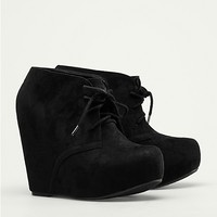 Faux Suede Heel Booties | Wedges & Heels | rue21