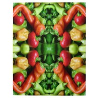 Pepper as Art - Spicy Abstract Jigsaw Puzzle