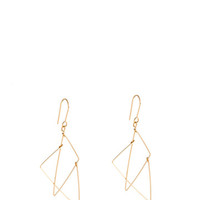 Split Triangle Earrings