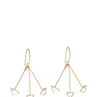 Triple Arrows Earrings