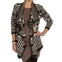 BlackIvory Tribal Cardigan