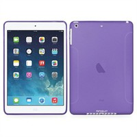 Frost TPU Skin Case for iPad 5 Air 2013 Release (Purple)