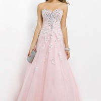 Blush 5329 at Prom Dress Shop