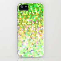 Mosaic Sparkley Texture G150 iPhone & iPod Case by MedusArt