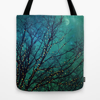 magical night Tote Bag by Sylvia Cook Photography