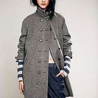 Cocoon Wool Coat