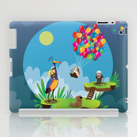 UP iPad Case by Maria Jose Da Luz