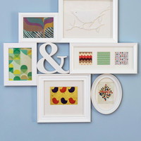 Place to Collage Your Own Picture Frame in White | Mod Retro Vintage Wall Decor | ModCloth.com