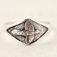 Talon Silver Raven Ring