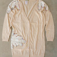 Cozy Lace Cardigan [4776] - $28.80 : Vintage Inspired Clothing & Affordable Dresses, deloom | Modern. Vintage. Crafted.