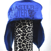 WarmFuzzy SALE Master Baiter. - Whimsically Fun Hat - Make a Statement without a word & Keep your Head Toasty too