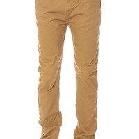 The Cuffed Chino Pants in Tobacco