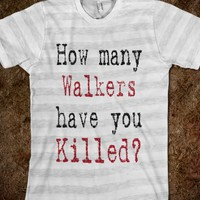 HOW MANY WALKERS
