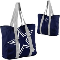 Dallas Cowboys Big Logo Tote - Navy Blue