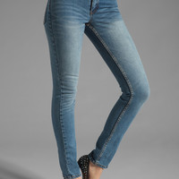 Cheap Monday Tight in Dark Clean Wash
